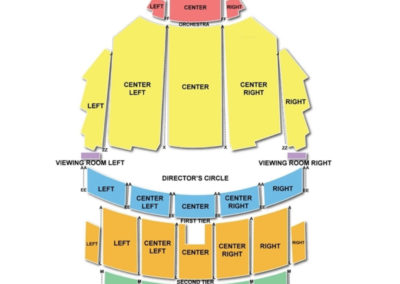Benedum Center for the Performing Arts Seating Chart