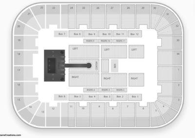 Berglund Center Seating Chart Concert