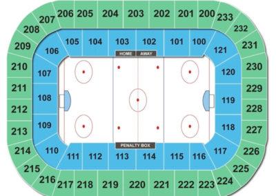 Bi-Lo Center Seating Chart Hockey