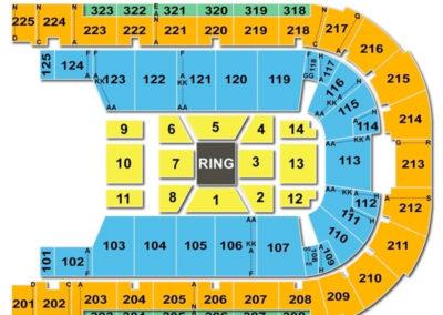 Boardwalk Hall Seating Chart Boxing