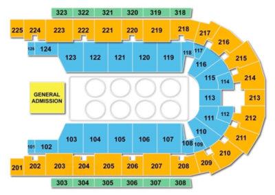 Boardwalk Hall Seating Chart Wrestling