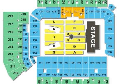 Bobby Dodd Stadium Concert Seating Chart