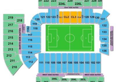 Bobby Dodd Stadium Seating Chart Soccer