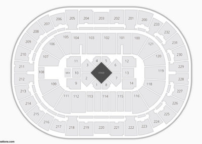 Bon Secours Wellness Arena Concert Seating Chart