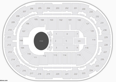 Bon Secours Wellness Arena Seating Chart Concert