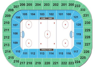 Bon Secours Wellness Arena Seating Chart Hockey