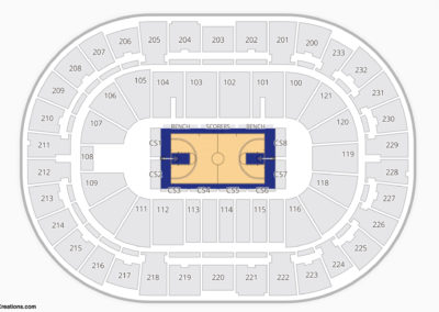 Bon Secours Wellness Arena Seating Chart NBA