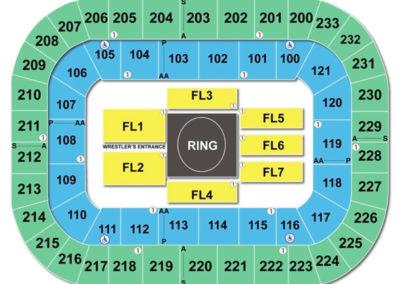 Bon Secours Wellness wwe Arena Seating Chart