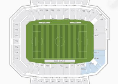 Bowling Green Falcons Football Seating Chart