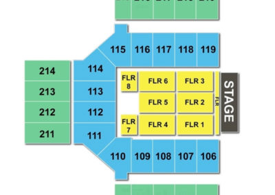 Broadmoor World Arena Concert Seating Chart