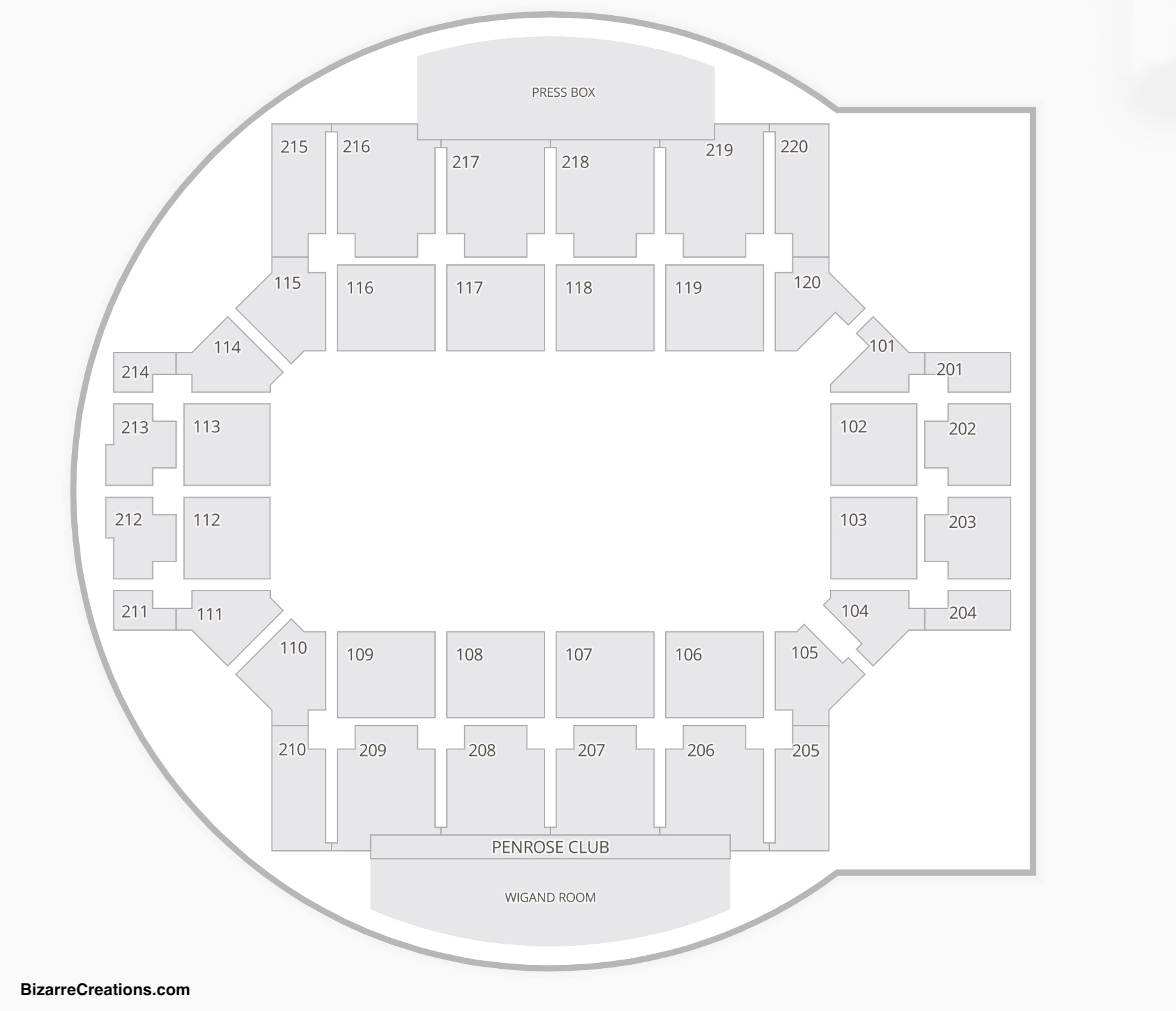 Broadmoor World Arena Seating Chart Wwe