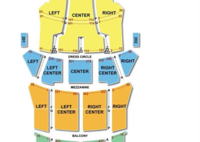 CIBC Theatre Seating Chart Chicago