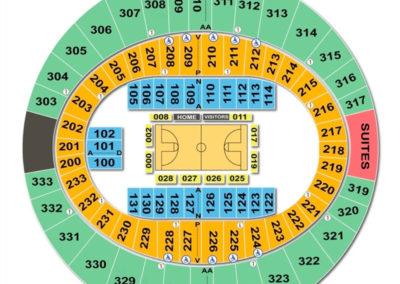 Cajundome Seating Chart Basketball