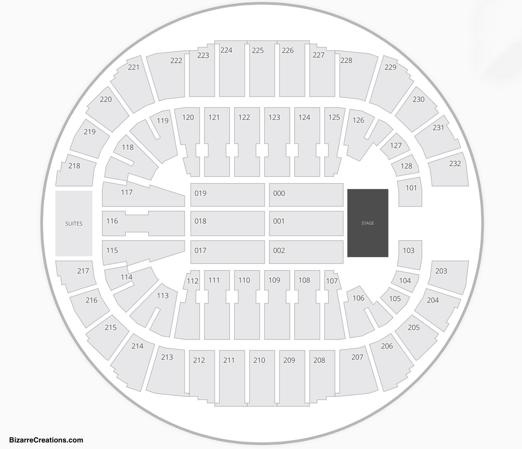 Cajundome Seating Chart Concert