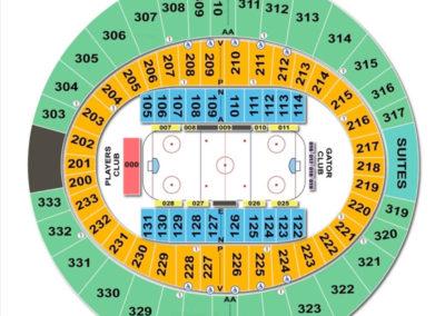 Cajundome Seating Chart Hockey