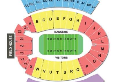 Camp Randall Stadium Seating Chart