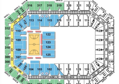 Carrier Dome Seating Chart Basketball