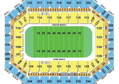 Carrier Dome Seating Chart Football
