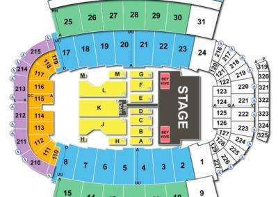 Carter-Finley Stadium Seating Chart Concert