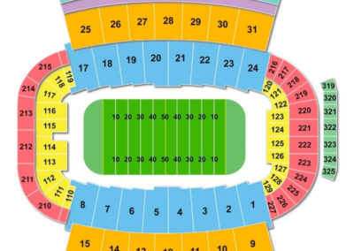 Carter-Finley Stadium Seating Chart Football