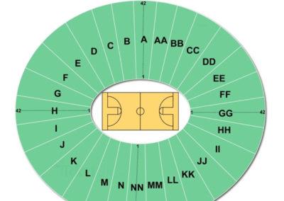 Carver Hawkeye Arena Seating Chart Basketball