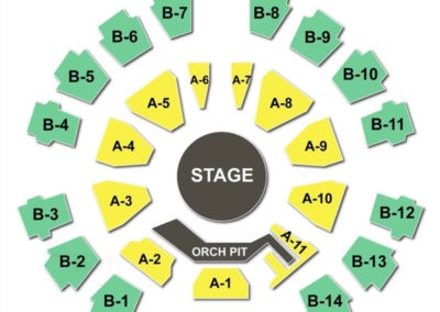 Celebrity Theatre Seating Chart Concert