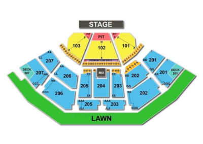 Cellairis Amphitheatre at Lakewood Seating Chart