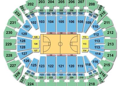 CenturyLink Center Omaha Basketball Seating Chart