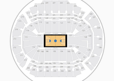 CenturyLink Center Omaha Seating Chart Basketball