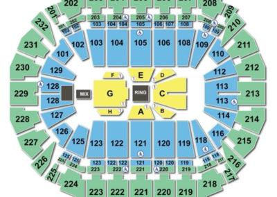 CenturyLink Center Omaha Seating Chart Boxing
