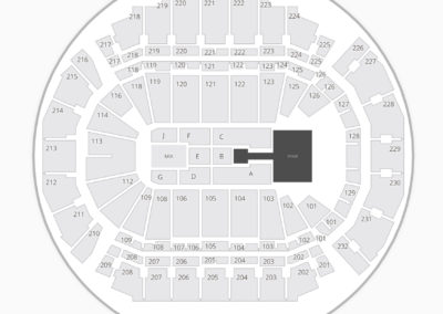 CenturyLink Center Omaha Seating Chart Concert