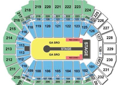 CenturyLink Center Omaha Seating Chart U2
