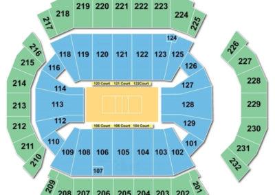 CenturyLink Center Omaha Seating Chart Volleyball
