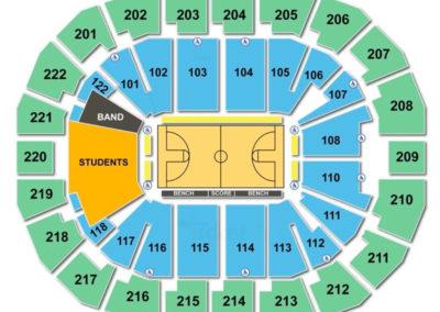 Chaifetz Arena Seating Chart Basketball