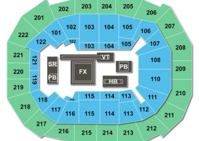 Chaifetz Arena Seating Chart Gymnastics