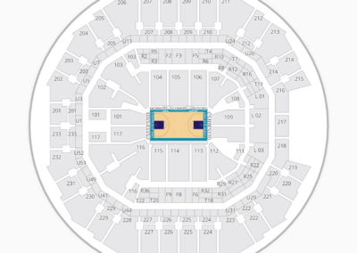 Charlotte Hornets Seating Chart