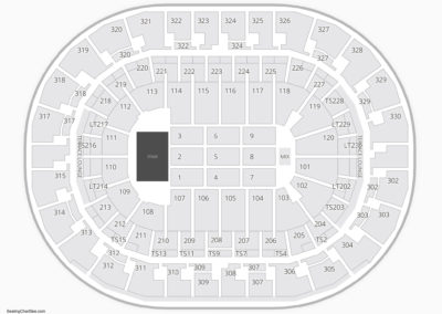 Chesapeake Energy Arena Concert Seating Chart