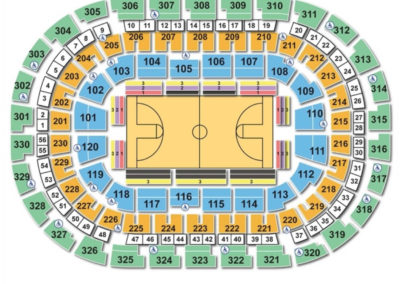 Chesapeake Energy Arena NCAA Basketball Seating Chart