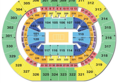 Chesapeake Energy Arena Volleyball Seating Chart