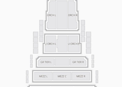 Civic Center Music Hall Seating Chart