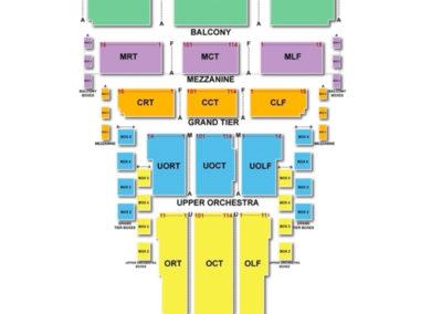 Civic Center Music Hall Seating Chart Oklahoma