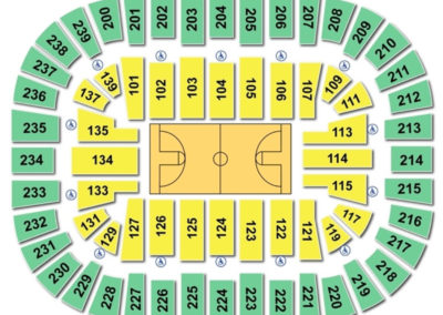 Cleveland State University Wolstein Center Basketball Seating Chart