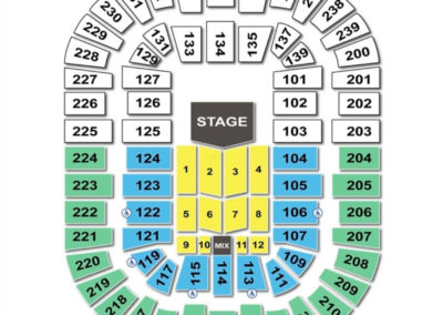Cleveland State University Wolstein Center Seating Chart Concert