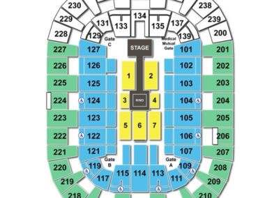 Cleveland State University Wolstein Center Seating Chart WWE