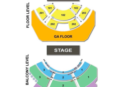 Club Nokia Seating Chart
