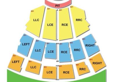 CMAC Seating Chart