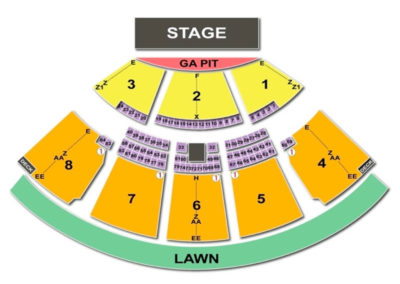 Coral Sky Amphitheatre Seating Chart Palm Beach