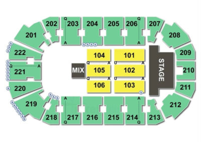 Covelli Centre Concert Seating Chart