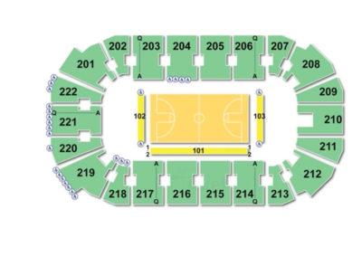 Covelli Centre Seating Chart Basketball