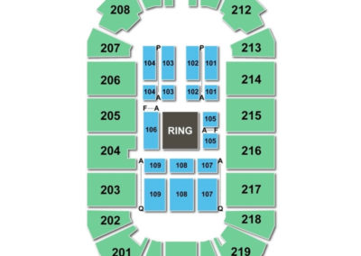 Covelli Centre Seating Chart WWE